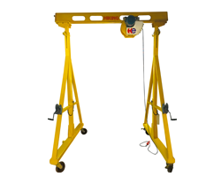 Movable Gantry with adjustable height