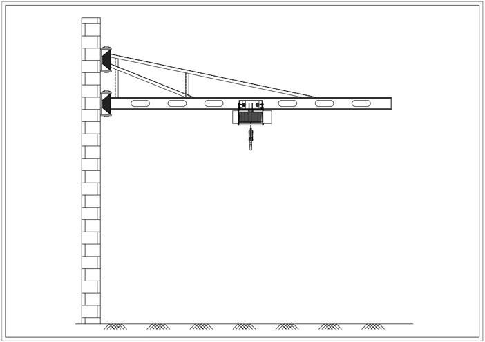 Jib Crane Manufacturers, Fabrication Structure