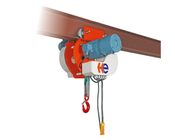 COMPACT NYLON HOIST FOR LOWER CAPACITIES